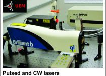 Pulsed and CW lasers