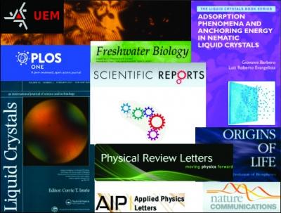 graduate program in physics - uem - produções
