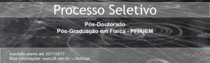 Divulgação Selecao Pos-Doutorado